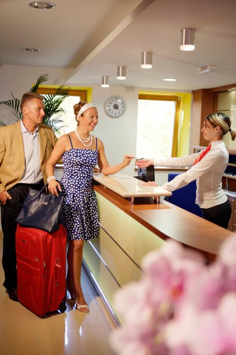 Hotel Energetic - Recepce