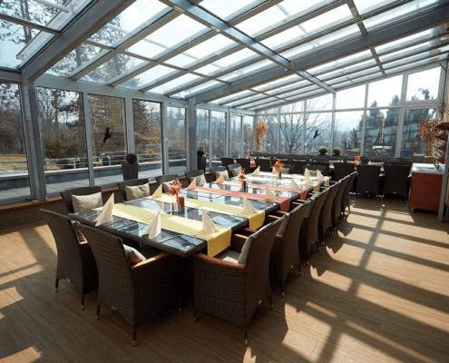 Hotel Energetic - Zimní zahrada