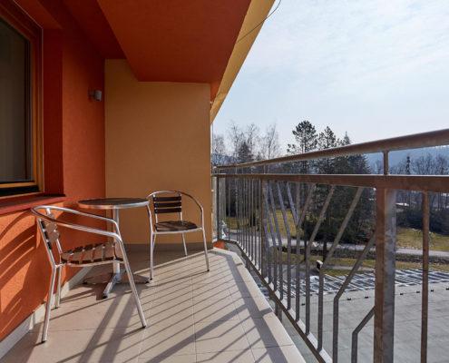 Hotel Energetic - Balkon